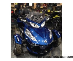 New 2016 Can-Am Spyder RT-S SE6 Motorcycle