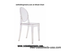 1stfoldingchairs.com at Ghost Chair