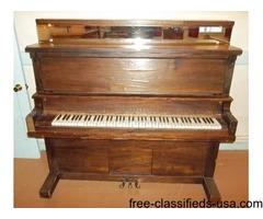 Upright Piano-Riedling Music Co.