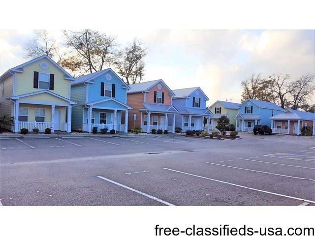 Myrtle beach house rental south carolina vacation for Beach house plans usa