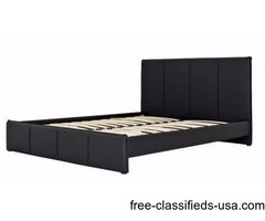 Padded Leather Beds