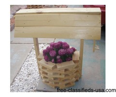 Natural wishing well- ( 3 foot high)- New!