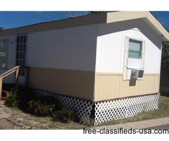 2BR 2BA in 55+ Mobile Home Park