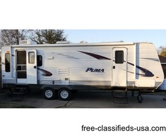 2011 Palomino Puma / 30'/ Model 26RLSS / Excellent Condition