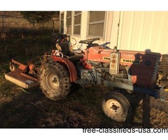 Yanmar 3cyl diesel with bush hog.