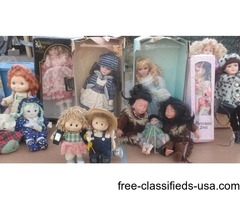 DOLLS, DOLPHINS AND CLOWNS