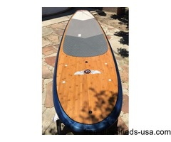"""Polycarbonate Gloss Coat PCG Paddleboard 10'.8 x 33"""" x 4.25"""" with Paddle"""