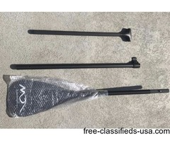 New 3-Piece Carbon Fiber Adjustable Paddle
