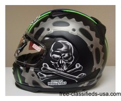 Arai Defiant Jolly Roger Snell M2015 Full Face Motorcycle Riding Race Helmet X-Large