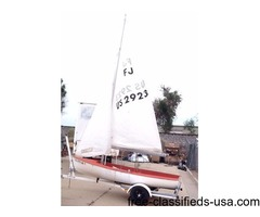 For Sale 14' FJ Sail Boat and Trailer