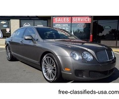 Mint Condition 2011 Bentley Continental Flying Spur Speed