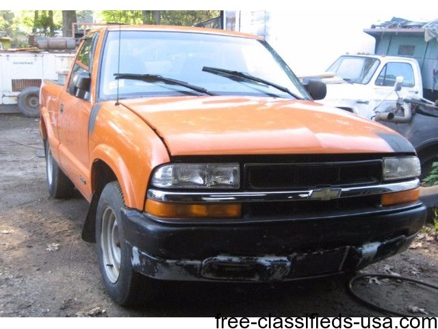 1999 chevy s10 pick up truck