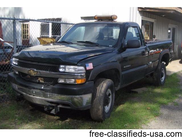 chevy 4x4 plow truck