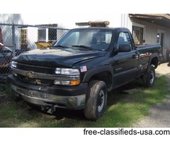 chevy 4x4 plow truck
