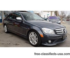 2009 Mercedes-Benz C-Class AWD C 300 Sport 4MATIC 4dr Sedan