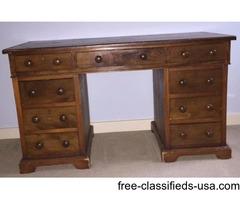 Antique Sea Captain's Desk