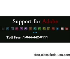 Get all Adobe tech issues fixed easily dial toll free +1-844-442-0111 USA