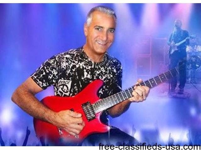 JERRY CHIAPPETTA, JR., Solo Act Classic Rock Guitarist & Singer & DJ
