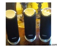 SAMSUNG PS-RHDP40 SURROUND SOUND SPEAKERS