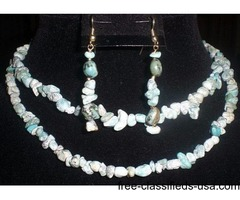 5 ONE OF A KIND NECKLACE SETS