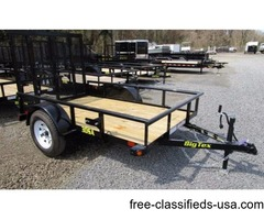 2017 Big Tex Single Axle Utility Trailer 5'x8' (44209)