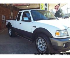 2009 Ford Ranger Supercab 4wd XLT