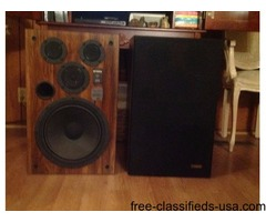 Two (2) Fisher Speakers