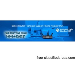 Get all Belkin Router tech issues fixed easily dial toll free +1-844-442-0111 USA