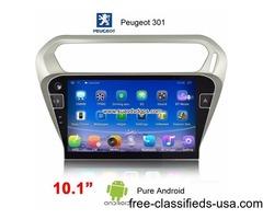 Peugeot 301 Android Car Radio GPS WIFI Satellite camera navigation