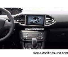 Peugeot 308 308S Android Car Radio GPS WIFI navigation camera