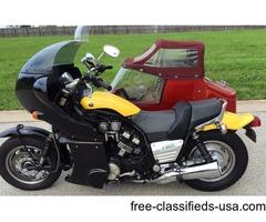 1994 Yamaha V-Max, with EZS Sidecar