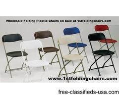 Wholesale Folding Plastic Chairs on Sale at 1stfoldingchairs.com