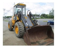 JCB HT 416 bucket loader, quick coupler, extra valve hyd