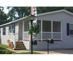 This beautiful 28x50 manufactured home features 3 bedrooms and two baths