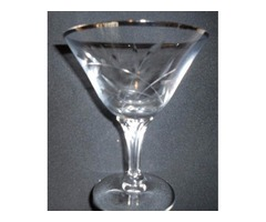 13 - Fostoria Long Stemmed Leaded Crystal Champagne Glasses
