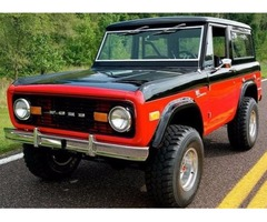 1972 Ford Bronco Performance 351 Windsor V-8