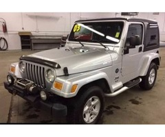 2003 Jeep Wrangler - Low Low Miles - 1 Owner