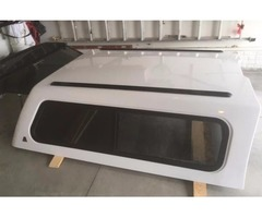 Leer Topper for 6.5' bed Ford (fiberglass, insulated, white)