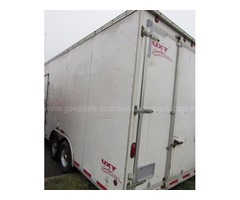 24ft 2006 United Enclosed Trailer loaded with Air Scrubbers & Other