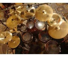 Tama warlord drum set rare! Hardware included. 7pc bubinga
