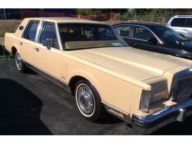 1983 Lincoln Continatal mark VI