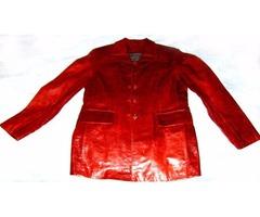 Brand New Ladies (Women's) Fashion Genuine Leather Jacket Size (M)