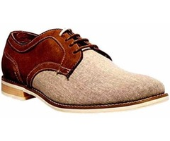 Brand New Men's Fashion Suede/Canvas Shoes US Size 9 M