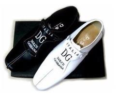 Brand New Unisex Dolce & Gabbana Designer Leather Shoes US Size 9 1/2