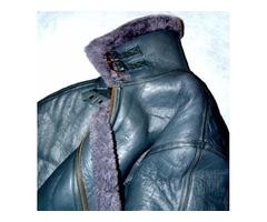 Brand New Men's XL Shearling Bomber Jacket