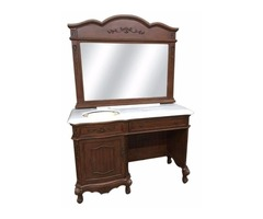 """52"""" wide Romana Makeup Sink vanity Set"""