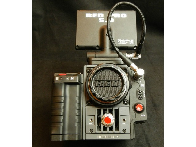 RED Scarlet Mysterium-X 4K UHD Complete Camera