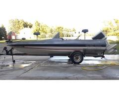 1986 Bayliner Trophy Fish/Ski Boat with Trailer