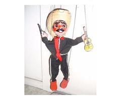 Vintage Mexican Marionette Puppet