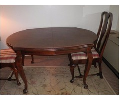 Drexel Heritage Dining Table & 2 Chairs